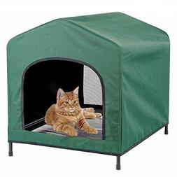 Kleeger Premium Canopy Pet House Retreat – Waterproof Indo