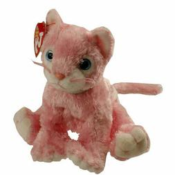 Ty Beanie Baby ~ CARNATION the Pink Cat ~ MINT with MINT TAG