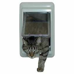 Ideal Pet Products E-Cat Electromagnetic Pet Door with 4 Way
