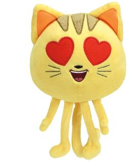 Ty Beanie Babie Cat Heart Eye Emoji Movie