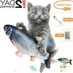 Cat Interactive Toys Flippity Fish Toy Electric Realistic Fl
