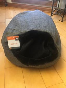 Cat Pet Bed, Igloo-Soft Indoor Enclosed Covered Tent/House f
