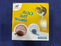 Cat Toy Megapack - Interactive Toy For Cats | 4 Toys include