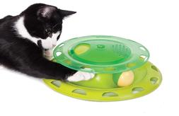 Petstages Cat Tracks Cat Toy - Fun Levels of Interactive Pla
