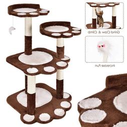 Cat Tree For Large Cats Scratching Tower Condo Kitty Furnitu