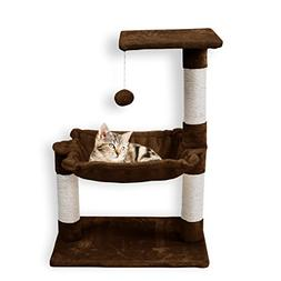 FIRSTWELL Cat Trees - Kitty Bed Furniture, Kitten Climb Stan
