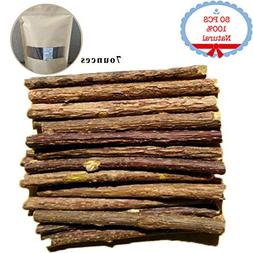 Bojafa Catnip Sticks 50 PCS Organic Cat Catnip Toys Natural