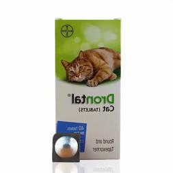 Drontal for Cats Kitten, 4,6,8,12,16 Tablets Tapeworm Deworm