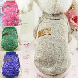 Classic Warm Dog Clothes Puppy Pet <font><b>Cat</b></font> C