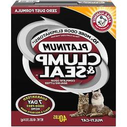 Arm & Hammer Clump & Seal Multi-Cat Litter 40-lb