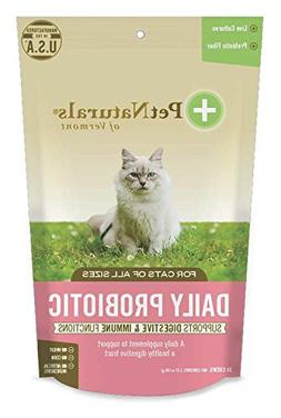 Pet Naturals of Vermont - Daily Probiotic for Cats, Digestiv