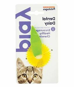 Petstages Dental Daisy Catnip Oil Infused Cat Chew Toy