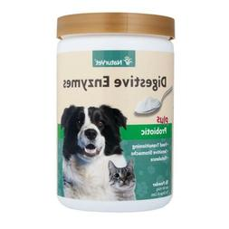 Naturvet Digestive Enzymes Powder Plus Probiotic For Dogs &