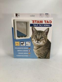 Large Cat / Small Dog Door Color: White