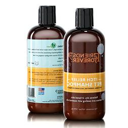 Friends Forever Natural Dog Shampoo for Dry Itchy Skin - Oat