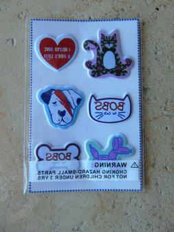 SKECHERS BOBS for Dogs & Cats Puffy Stickers