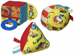 Manhattan Toy Dr. Seuss Cat in the Hat Shape Set Baby Activi