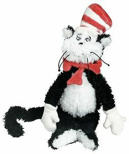 "Manhattan Toy Dr. Seuss Cat in the Hat 12"" Soft Stuffed Anim"