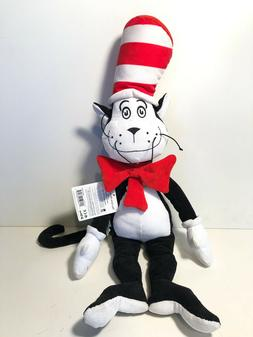 DR. SEUSS ~ CAT IN THE HAT CORDY ~ NEW PLUSH ~ 20""