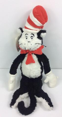 Dr Seuss Cat In The Hat Plush Manhattan Toy Co 20 Inch Bean