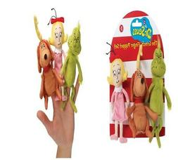 Manhattan Toy Dr Seuss The Grinch Finger Puppet Set Christma