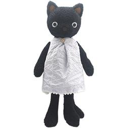 JIARU Stuffed Animals Cats Plush Toys Dressed Dolls with Rem