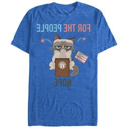Grumpy Cat Election For the People Nope Mens Graphic T Shirt