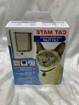 Cat Mate Electromagnetic Cat Flap New In Box With Instructio