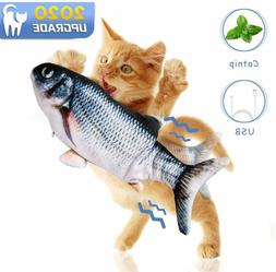 electronic pet cat usb charging catnip simulation