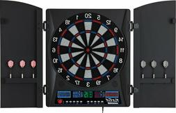 "Fat Cat Electronx13""  Electronic Dartboard/Cabinet 38 Games"