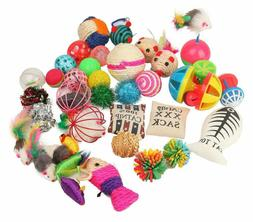Fashion's Talk Cat Toys Variety Pack for Kitty 20 Pieces NEW