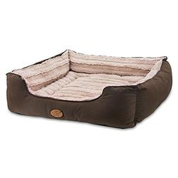Best Pet Supplies Premium Plush Suede Bed for Dogs & Cats -