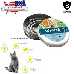 Seresto Flea & Tick Collar for Cats, Provide 8 Months Protec