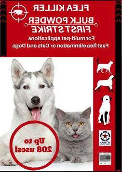 Flea Killer for Dogs and Cats Bulk Powder 2000 mg, 100's of