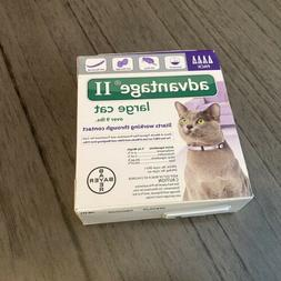 Flea Treatment Cats Over 9 lbs 4 One Month Doses Control Adv