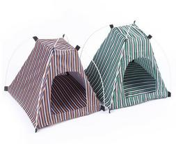 Foldable Pets Tent For Dogs Cats Camping Hiking Travel Oxfor