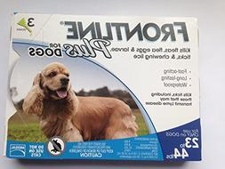Frontline DFRMDPLUS 3-Pack 23 to 44-Pound Plus Dogs Flea and