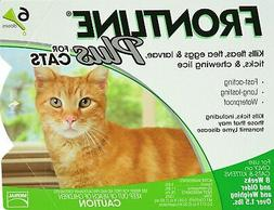 Frontline Plus for Cats - 6 Month - USA / EPA Approved, Flea