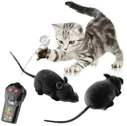 Fun Wireless Remote Control RC Electronic Rat Mouse Mice Toy