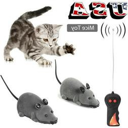 Funny Mouse Wireless Electronic Remote Control Mouse Rat Pet