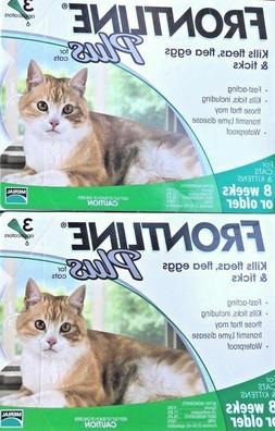 Genuine Frontline Plus For Cats 6 Doses / 6 Month Supply Fle