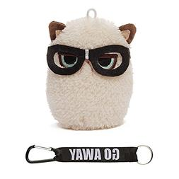 Gund Grumpy Cat Mini Plush with Glasses, 4""