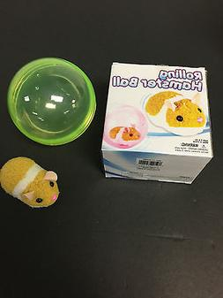HAMSTER ROLLING BALL GREAT TOY FOR CATS,DOGS & KIDS INCLUDES