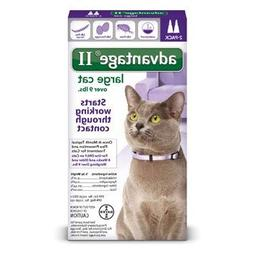 Bayer Animal Health Advantage II Flea prevention Large Cats,