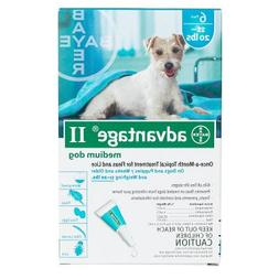 Advantage II Medium Dog 6-Pack