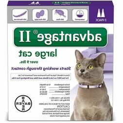 Advantage II for Large Cats over 9 lbs - 2 Dose Pack  - EPA