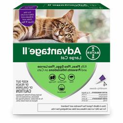 Advantage II Once-A-Month Topical Large Cat Flea Treatment,