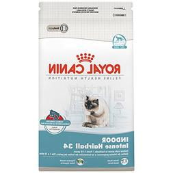 Royal Canin Indoor Intense Hairball 34 Dry Cat Food, 6-lb