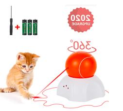 OLEY Interactive Cat Toy - Moving Laser Ball Interactive Toy