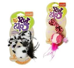 Hartz Just For Cats Feather Ball Teaser